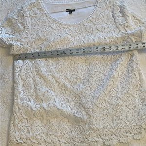 Talbots top lace 12